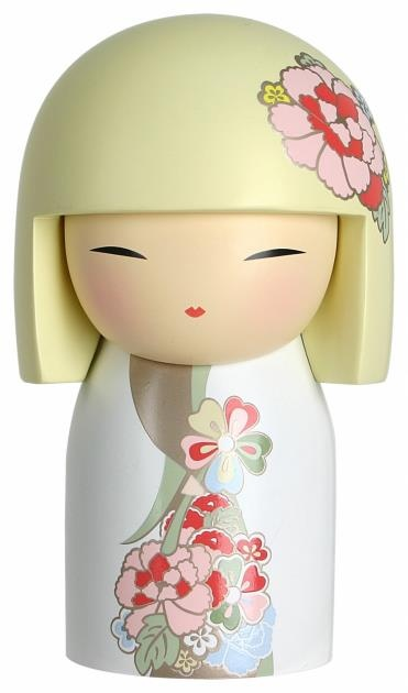 "Kimmidoll™ Ryoko - 'Elegant' - ""My spirit is gracious and refined. Your refined elegance emulates my spirit. By valuing the simple and enduring things in life, and nurturing within yourself both grace and refinement, may you live an elegant life."""