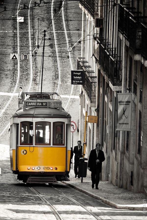 Tranvía Lisboa, Portugal