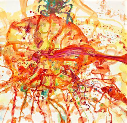 john olsen, the bouillabaisse ~ 2009 , from culinaria - the cuisine of the sun.