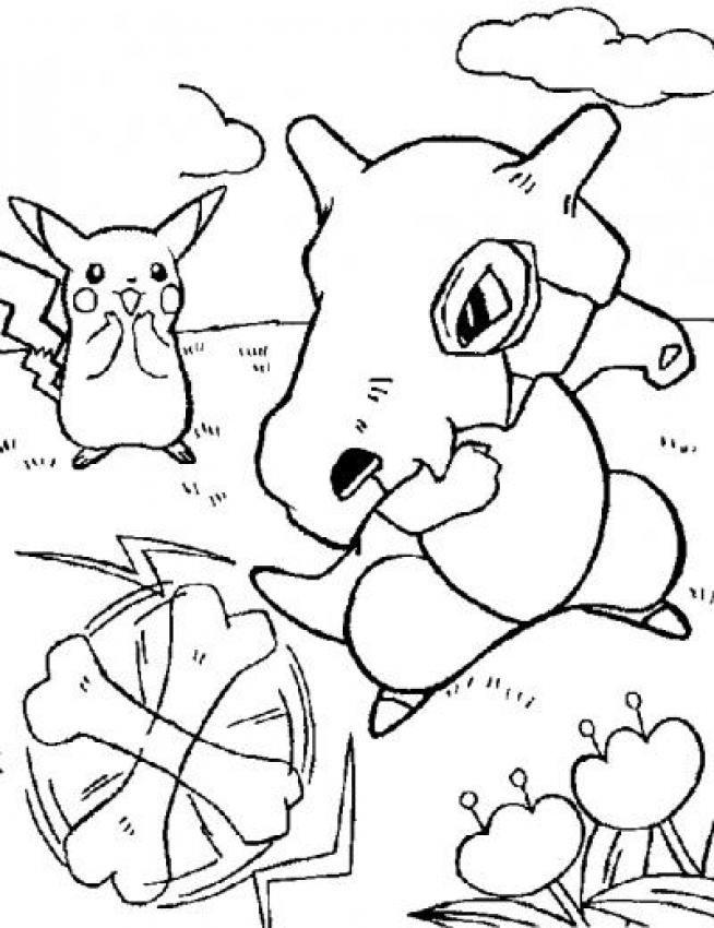 Dibujos para colorear traviesos pokemon - es.hellokids.com