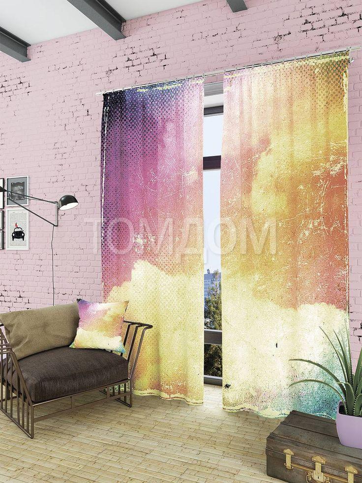 """Комплект штор """"Верети"""": купить комплект штор в интернет-магазине ТОМДОМ #томдом #curtains #шторы #interior #дизайнинтерьера"""