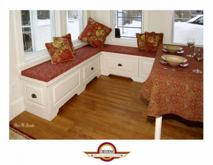 banquette coin repas cuisine pinterest. Black Bedroom Furniture Sets. Home Design Ideas