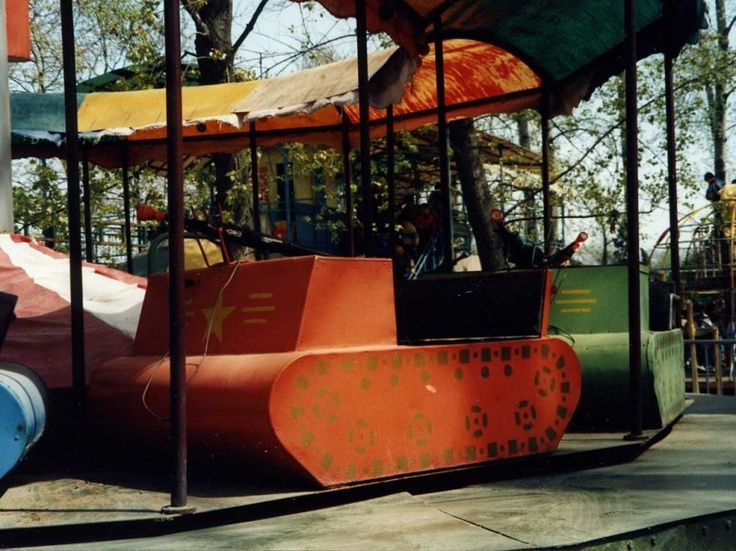 """Nanjing, China. """"A merry-go-round in Nanjing, China, but with tanks."""" - Irene Schneider, Executive Service and Surveys Editor"""