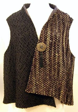 Handwoven Vest, Kathleen Weir-West, Business Clothing 5.JPG
