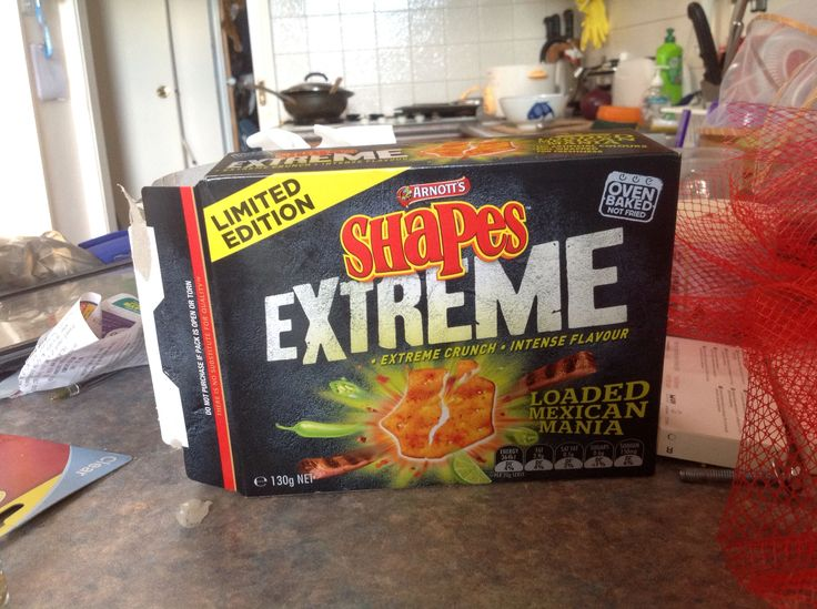 Loaded Mexican Mania! Limited Edition Shapes! Yum!