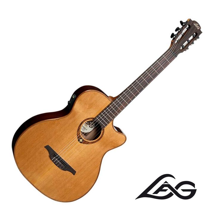 Riff City Guitar - Lag Guitars TN100ACE Nylon-String Acoustic Electric Guitar, $499.99 (http://www.riffcityguitaroutlet.com/lag-guitars-tn100ace-nylon-string-acoustic-electric-guitar/)