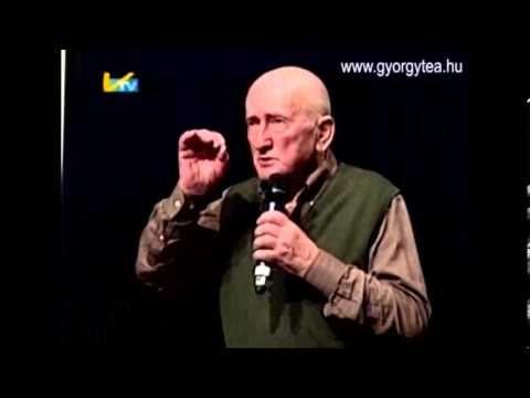 A bükki füvesember, Szabó Gyuri bácsi előadása Hódmezővásárhely 2013. április 10. - YouTube