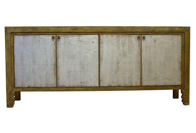 June Sideboard, Gold/Silver