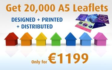 Get 20,000 A5 Leaflets only at http://www.quicklinks.ie/deal-20000-298-999.htm