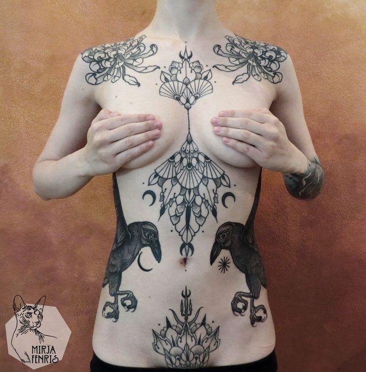 mirja fenris tattoo tattoo pinterest tatouages le f minin et tatouages femme. Black Bedroom Furniture Sets. Home Design Ideas