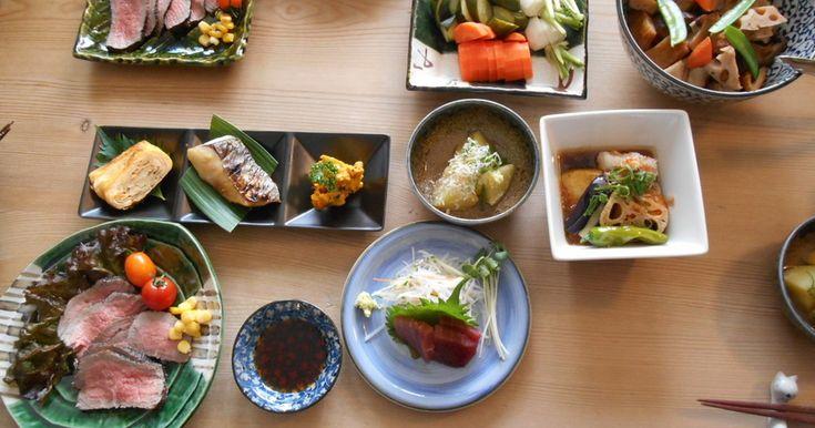 和食ランチで友人をおもてなし。