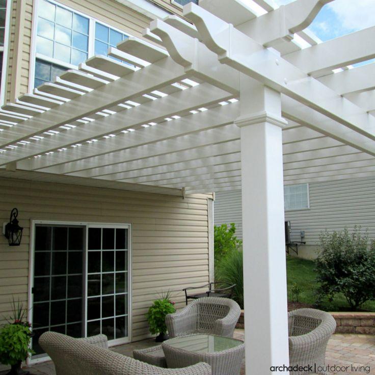 113 best images about pergola ideas on pinterest outdoor spaces deck pergola and arbors trellis. Black Bedroom Furniture Sets. Home Design Ideas