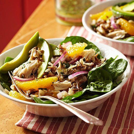 Honey-Lime Rice Salad