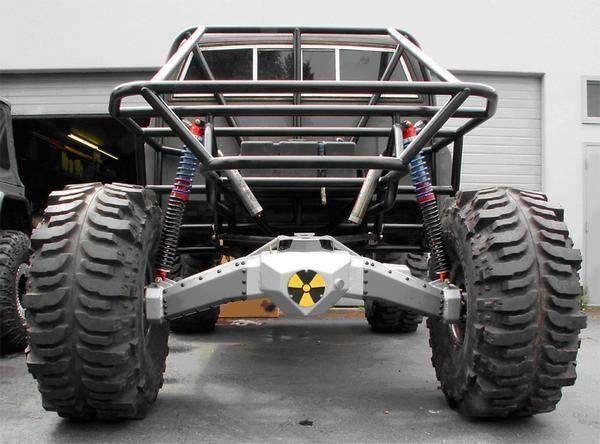 Atomic axles on a Toyota http://www.youtube.com/watch?v=mX3QFIlWSOY