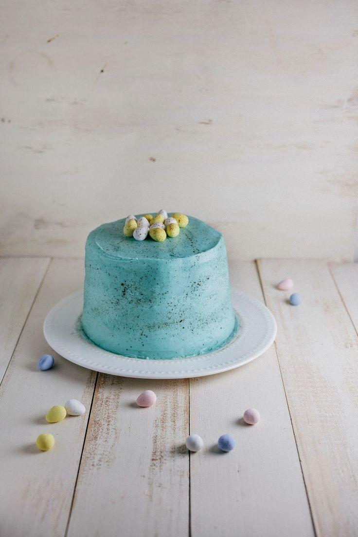 Hummingbird High - A Desserts and Baking Food Blog in Portland, Oregon: Easter Egg Cake