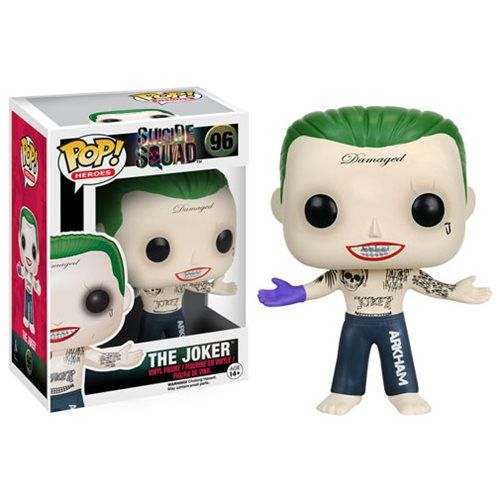Suicide Squad Shirtless Joker Pop! Vinyl Figure - Funko - Suicide Squad - Pop! Vinyl Figures at Entertainment Earth