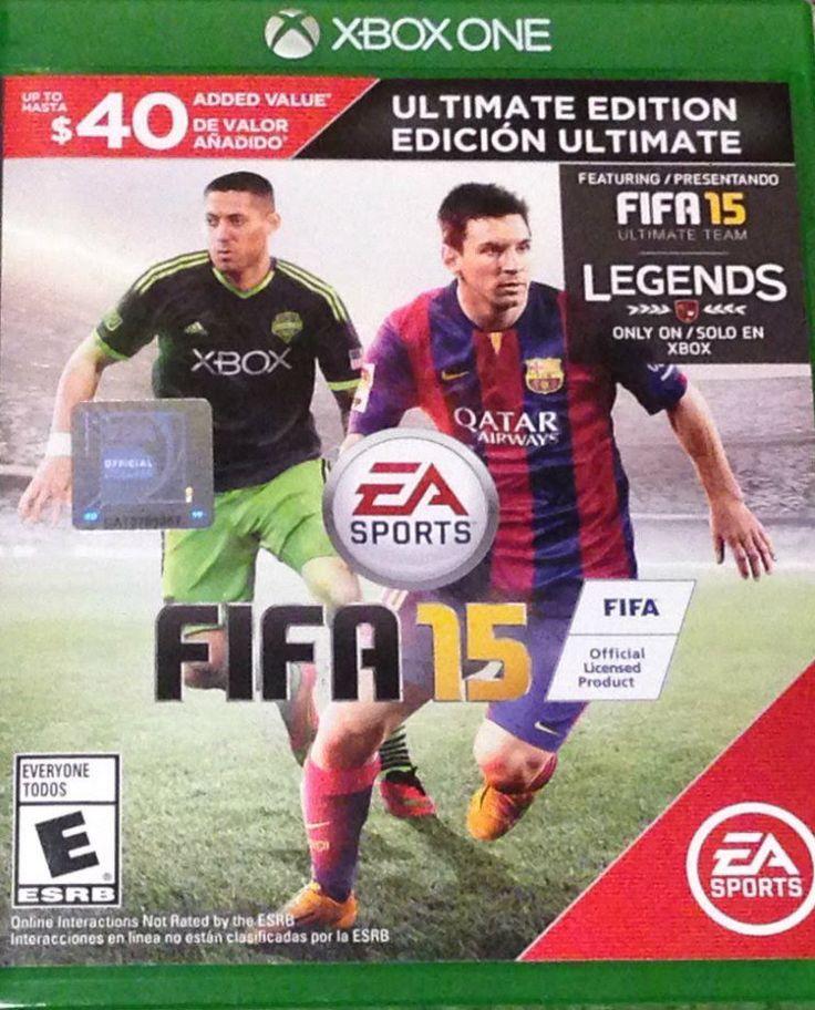 FIFA 15 (Microsoft Xbox One, 2014) Ultimate Edition Featuring Fifa 15 Ultimate