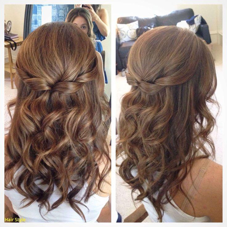 Elegante Hochzeit Frisuren für kurze Haare zur Hälfte