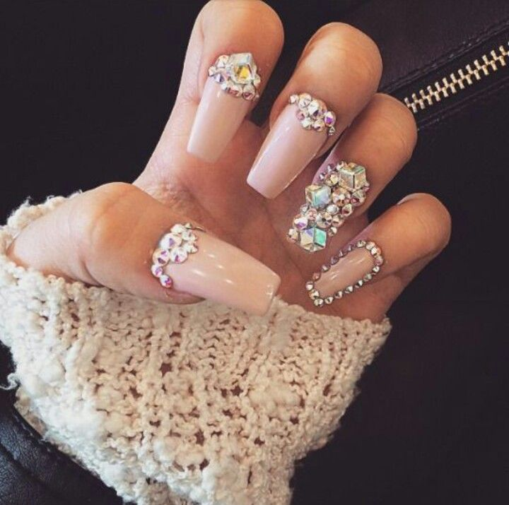105 best Nails images on Pinterest   Nail design, Bling nails and ...