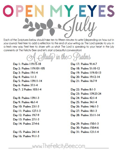 Feel free to print out this writing plan as you study God's Word. You can also CLICK HERE for a PDF copy.
