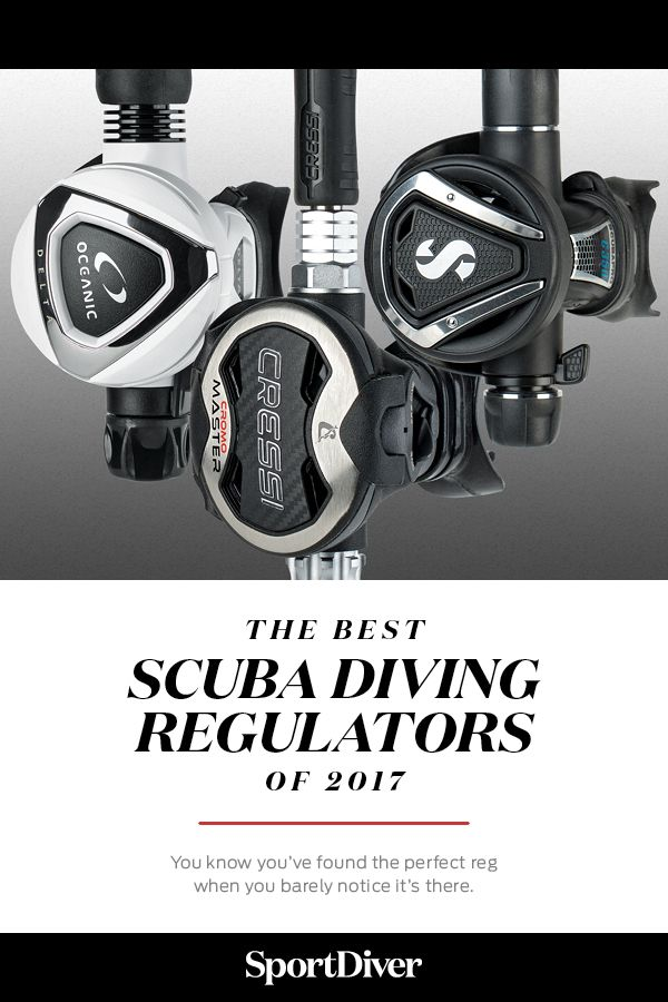 The Best Scuba Diving Regulators — Our 2017 scuba diving Gear Guide breaks down the key features and pricing for some of the best scuba diving regulators models on dive shelves so you can find the right reg.
