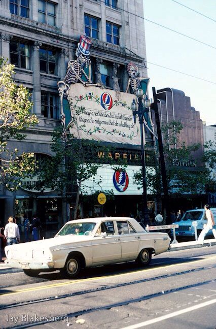 September 1980 - The Grateful Dead - The Warfield Theater. Part of the historic 14 night run in SF!