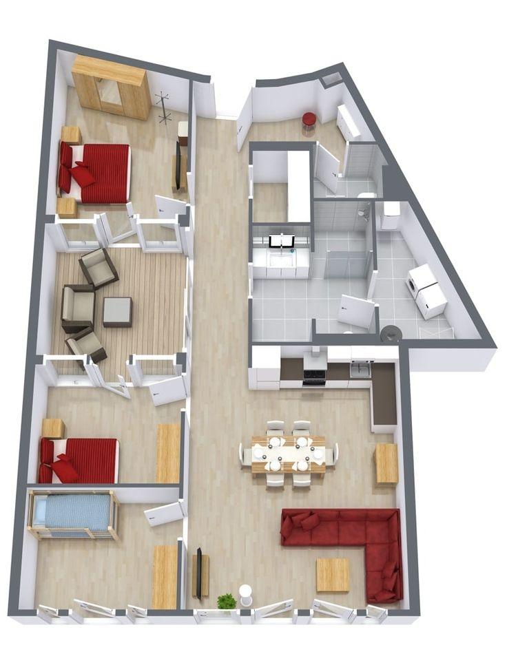 17 best downtown apartments stuttgart images on pinterest bedroom apartment serviced. Black Bedroom Furniture Sets. Home Design Ideas