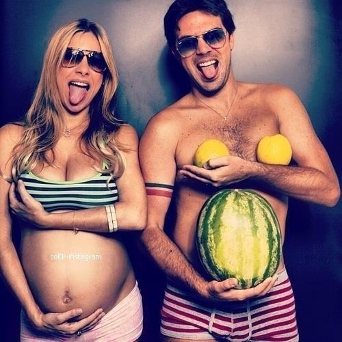 coolest pregnancy photo haha