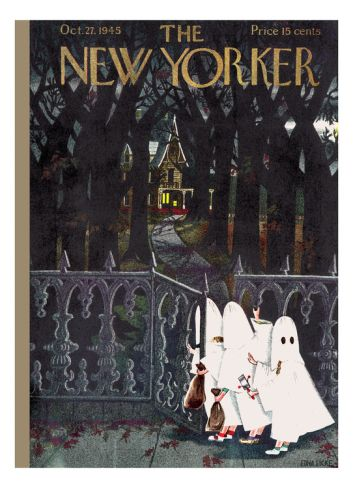 The New Yorker Cover - October 27, 1945 Premium Giclee Print by Edna Eicke at Art.com
