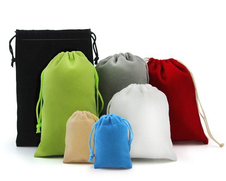 Флокирование ювелирных подарочного тотализатора сумка мобильного телефон аксессуары, цифровых пакеты питания зарядного устройства приема пакет Taobao пользовательские LOGO-