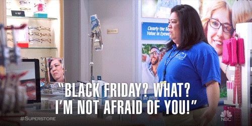 thanksgiving shopping yolo black friday superstore sandra you got this cloud 9 kaliko kauahi trending #GIF on #Giphy via #IFTTT http://gph.is/2gcxisn
