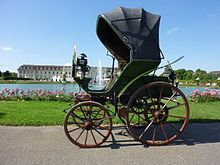 History of the automobile - German Flocken Elektrowagen 1888, regarded as the first electric car of the world.