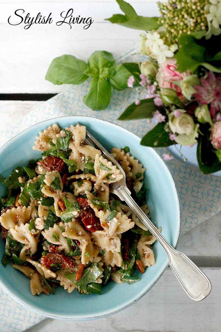 Nudelsalat mit FetakäseZimt und Chili – Der Kochblog