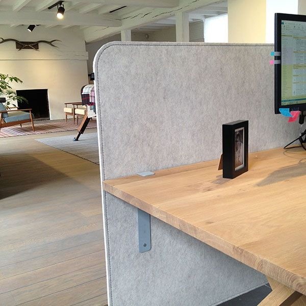 Buzzi Front Desk And Desks For Open Office Dividers Acoustic Privacy