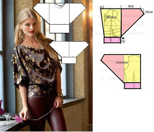 Easy sewing - Blouse 2