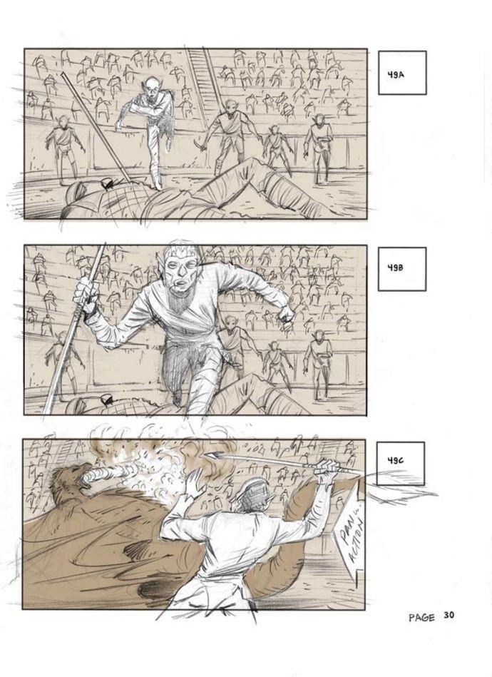 Game of Thrones 509 | Storyboard Artist, Adrien Van Viersen