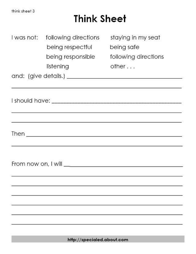 Best 25+ Behavior reflection sheet ideas on Pinterest Behavior - incident action plan