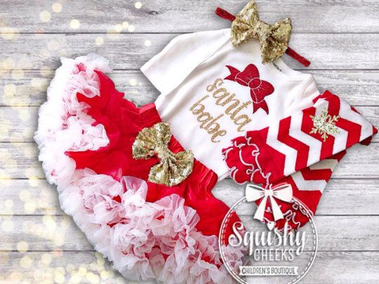 1000 Ideas About Newborn Christmas Outfits
