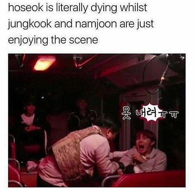 my poor hoseok  protect him plz