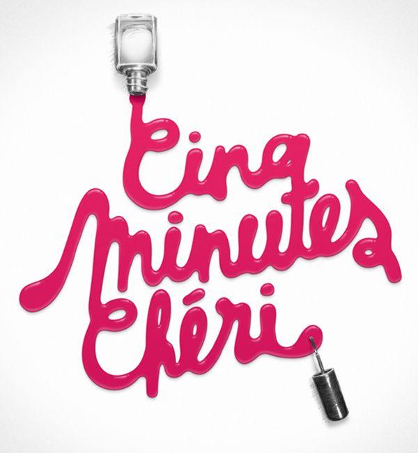 Typographic: Minutes Cheri, Typography Design, Typographic Work, Art Typographic, Typographic Designs, Typography Inspiration