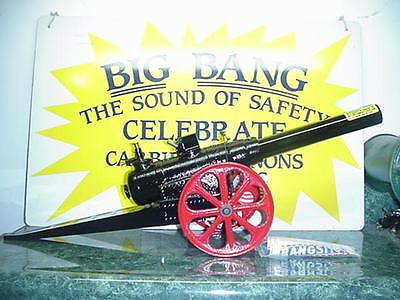 15-F NEW IN BOX BIG BANG CANNON BANGSITE CALCIUM CARBIDE CAST IRON CONESTOGA TOY