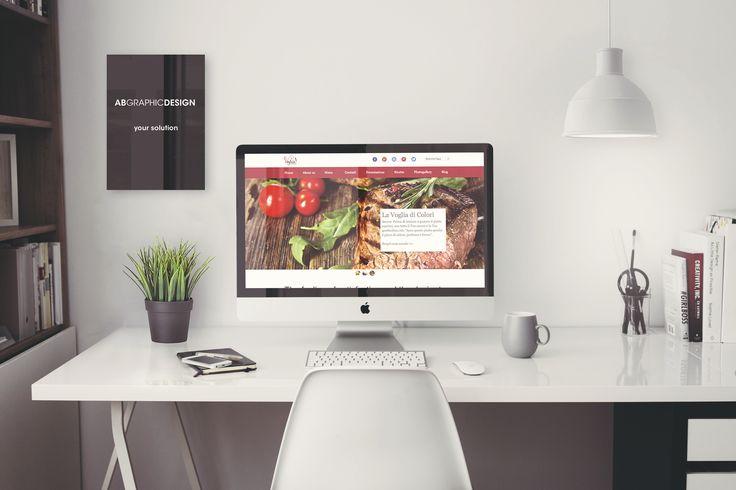 """Creazione di un'applicazione web per un ristorante situato a Colico (Lecco). Chiamato """"La Voglia"""". www.ristorantelavoglia.it"""
