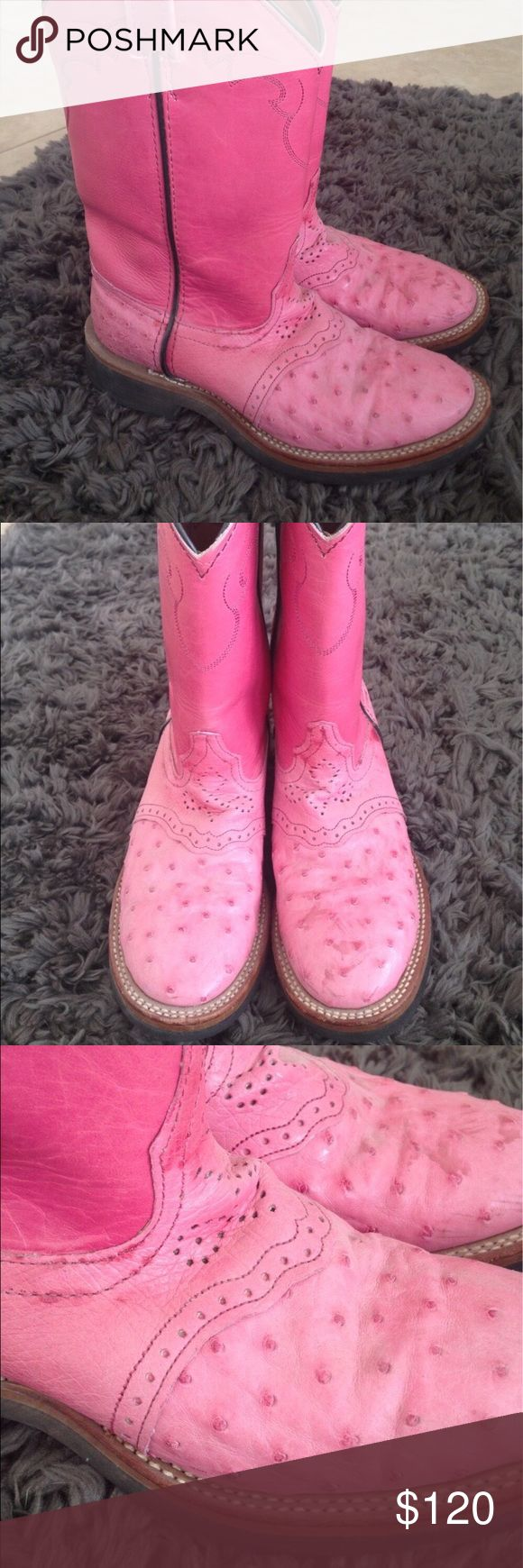 Lagrange Alex Ross Ostrich Leather Western Boots. Lagrange Alex Ross Ostrich Lea…