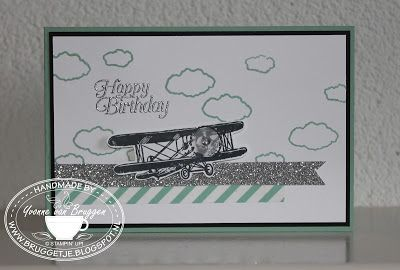Yvonne is Stampin' & Scrapping: Stampin' Up! Sale-a-Bration Sky is the Limit #stampinup