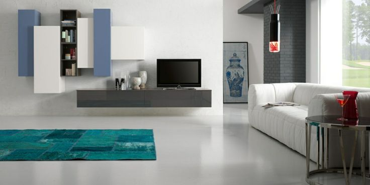 Modern and refined style in this living room Exential Spar characterized by a harmony of space and color without sacrificing the quality of materials and functionality. http://www.spar.it/sp/it/arredamento/proposta-y16.3sp?cts=giorno_exential