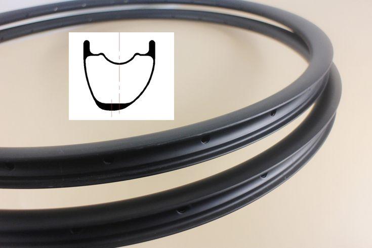 """Super luz Assimétrica hookless Tubeless 29er jantes de carbono de 28*25mm 29 """"CrossCountry XC mtb rodado bicicleta aro 24 28 32 buracos"""