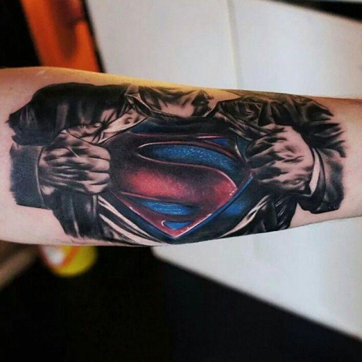 Superman Tattoo for Chad
