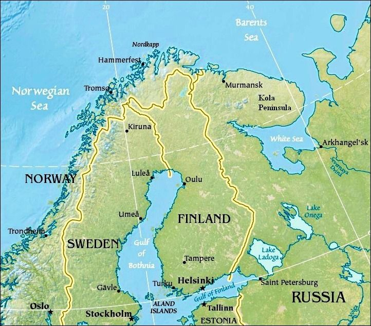 On December 6, 1917 Finland gained independence from Russia.