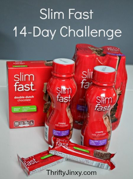 Slim Fast 14-Day Challenge Results and Twitter Party - - - with Prizes of Course! - Thrifty Jinxy