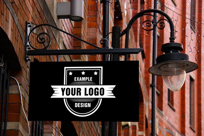 Upload your own logo design onto an old logo signage plate. Best suitable for a light-color or white logo design. Visualize your logo design in a realistic scene. A simple vintage logo sign mockup generator template. Display your logo design in a creative way.